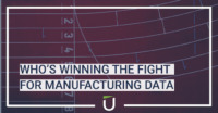 Who's winning the fight for manufacturing data